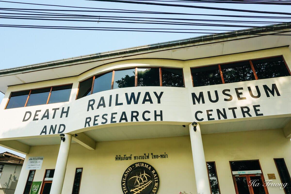 Kanchanaburi Thailand Death Railway Museum