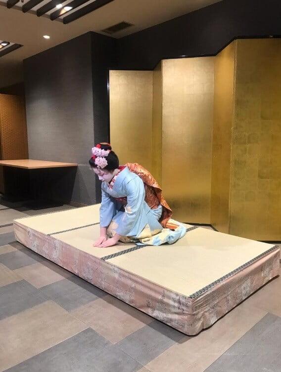 Japanese dance Maiko