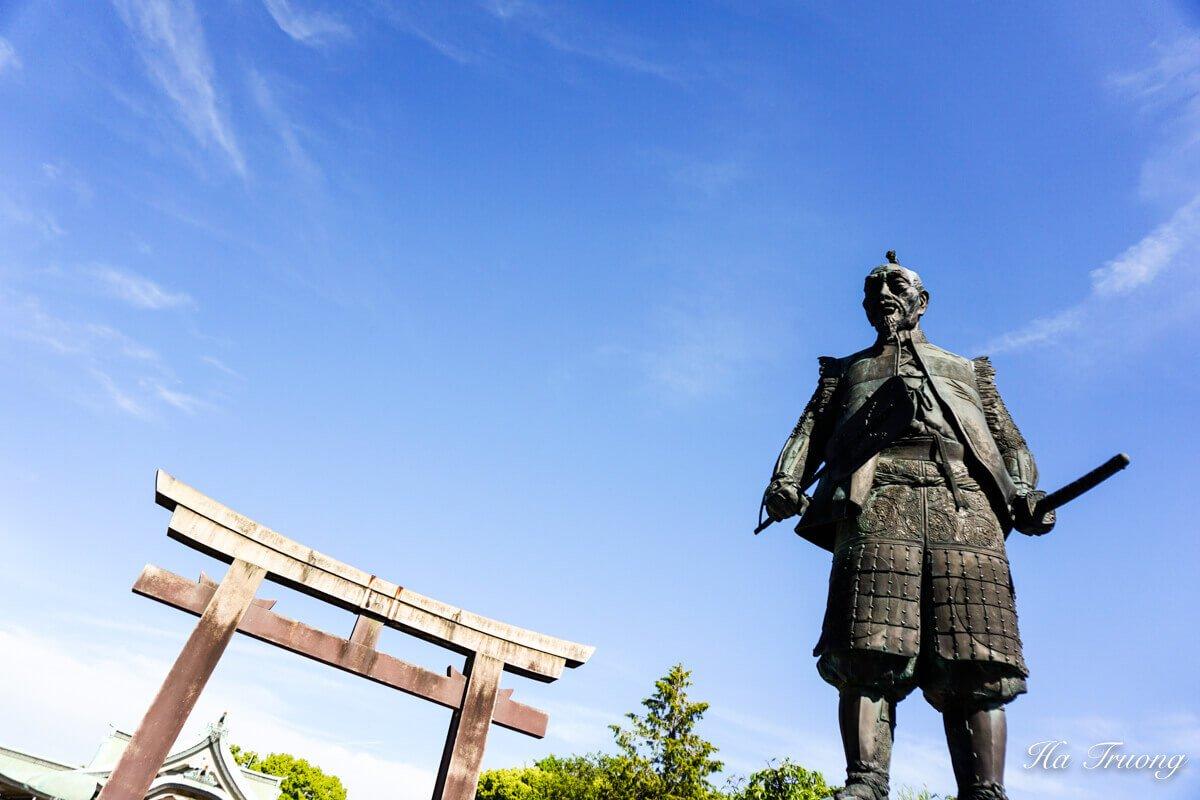 Statue of Samurai Toyotomi Hideyoshi