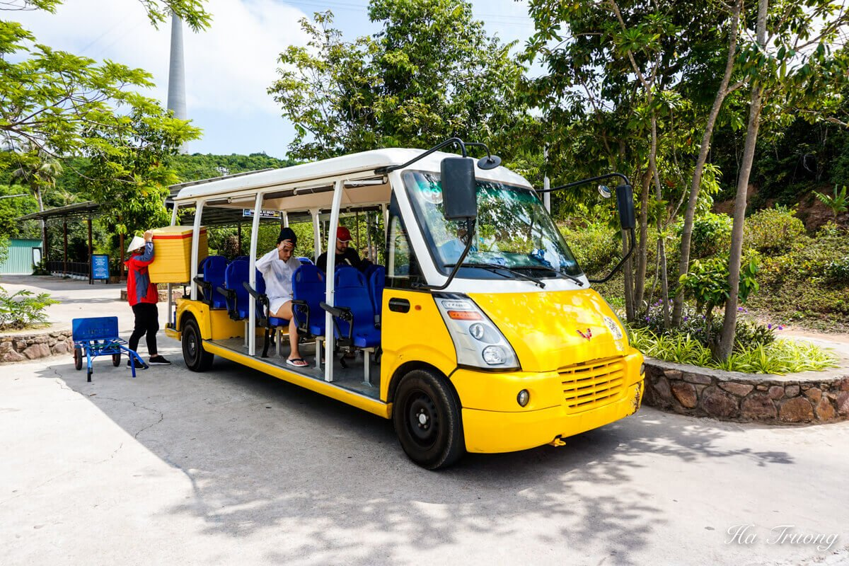Phu Quoc cable car Vietnam electric car