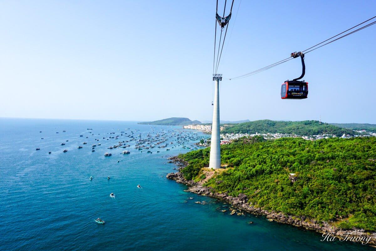 Phu Quoc cable car Vietnam