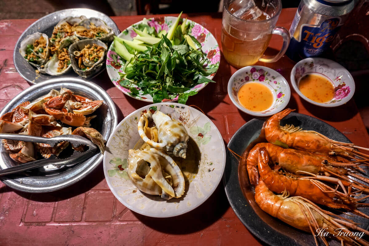 seafood in quy nhon