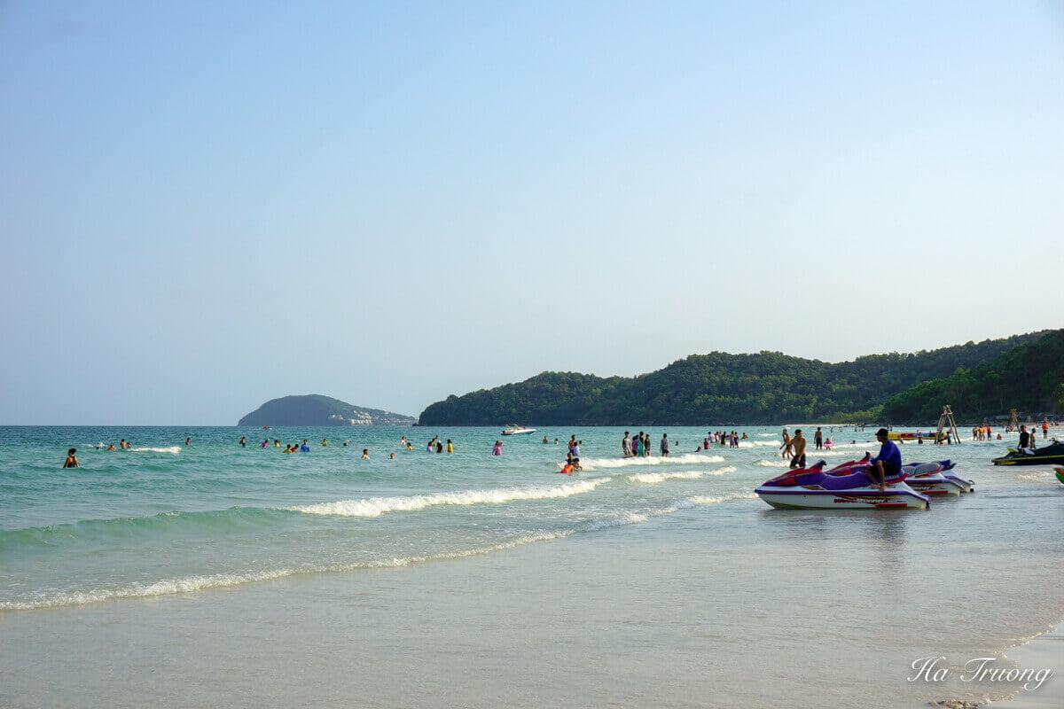 Sao beach Phu Quoc Vietnam