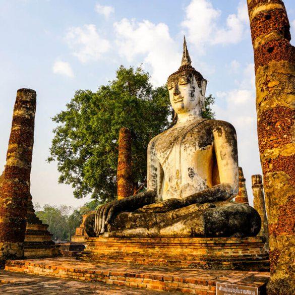 Sukhothai Historical park Thailand