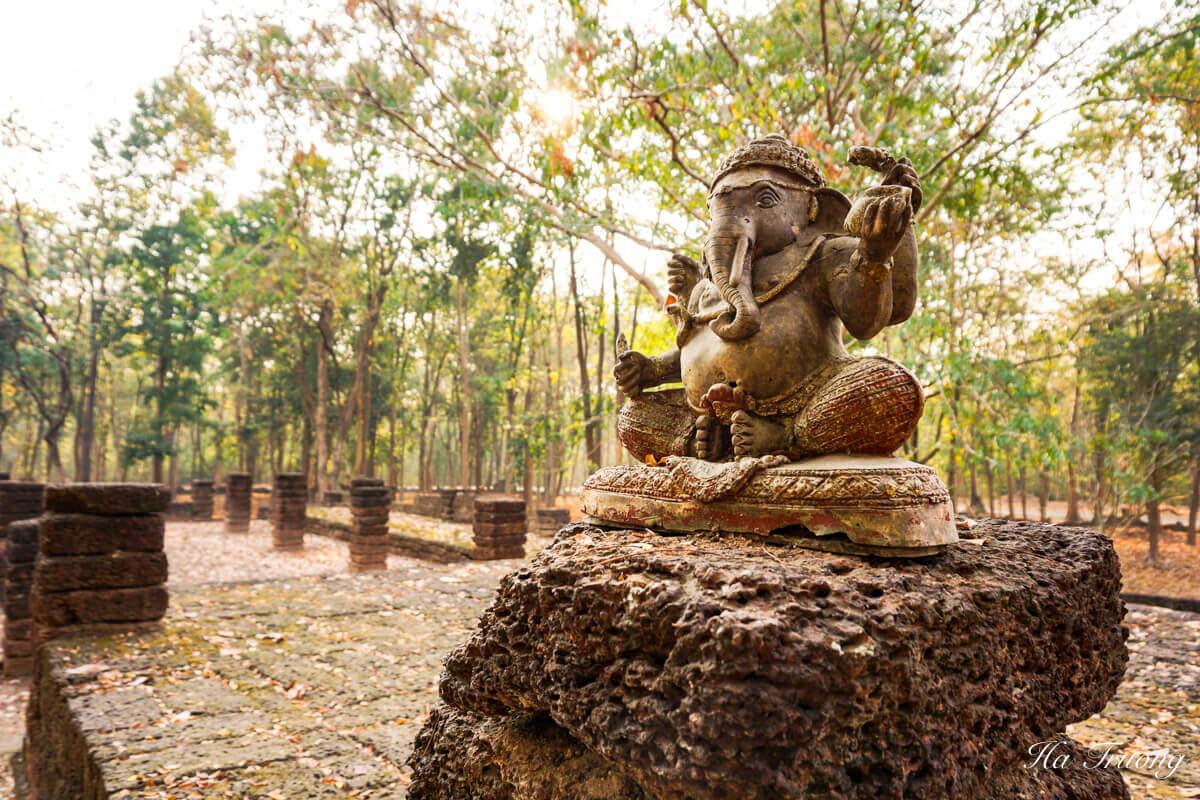 Kamphaeng Phet historical park Thailand