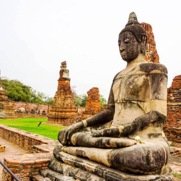Wat Mahathat Ayutthaya Thailand