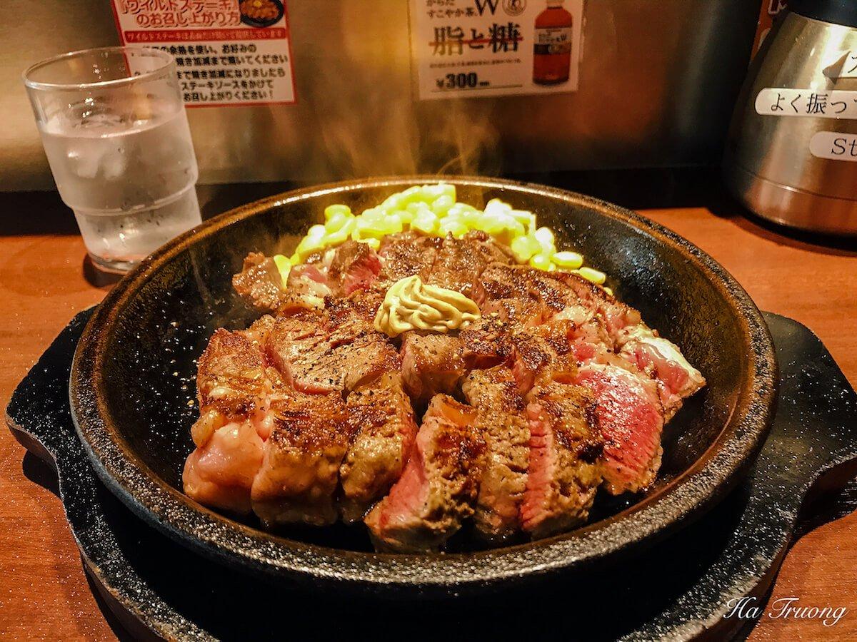 beef steak in tokyo japan