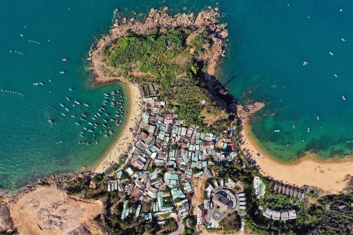 Bai Xep beach Vietnam