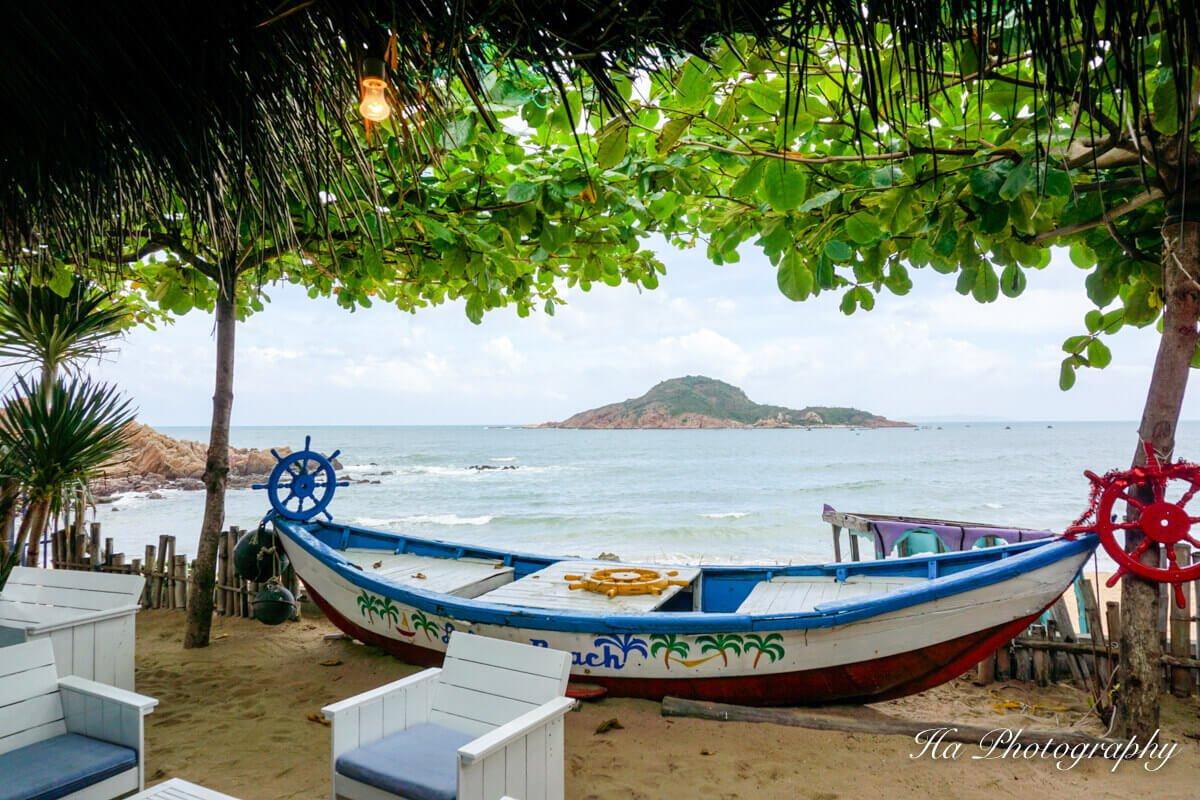 Bai Xep beach Quy Nhon Vietnam view