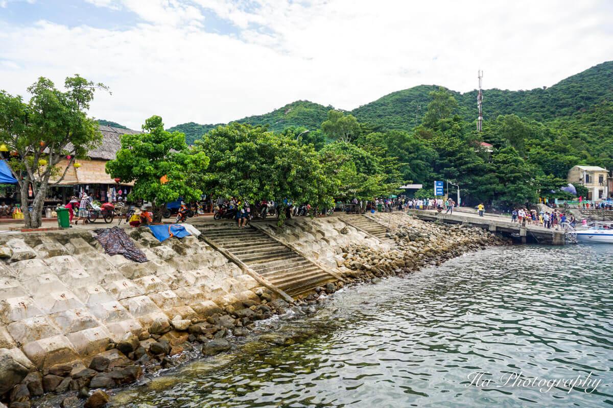 Cham islands pier Vietnam