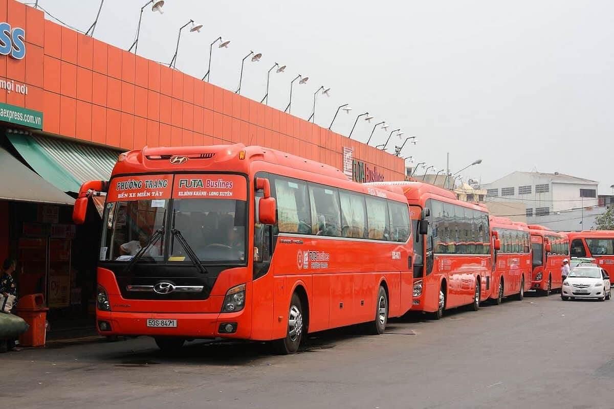 FUTA bus Vietnam