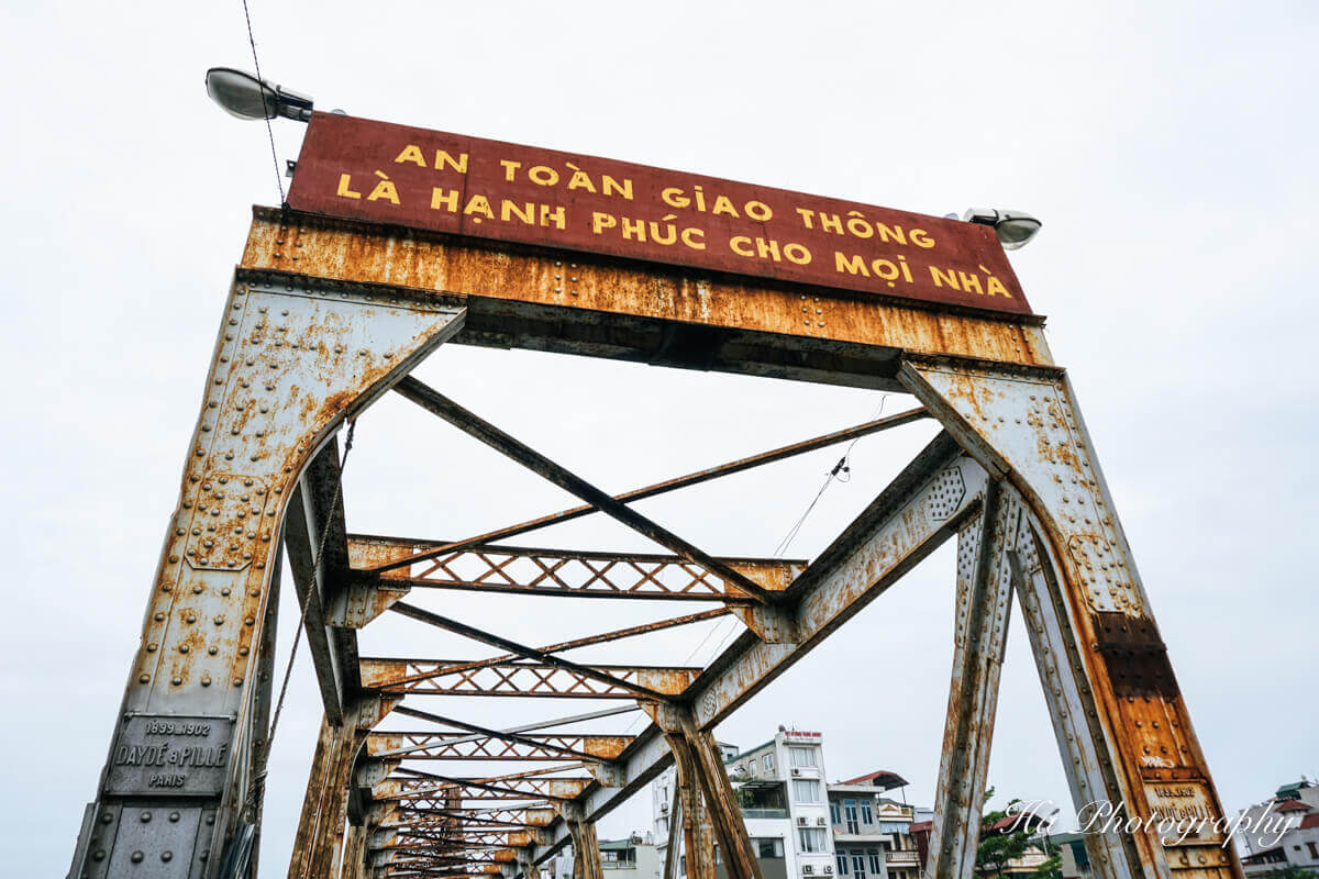 Long Bien bridge Vietnam