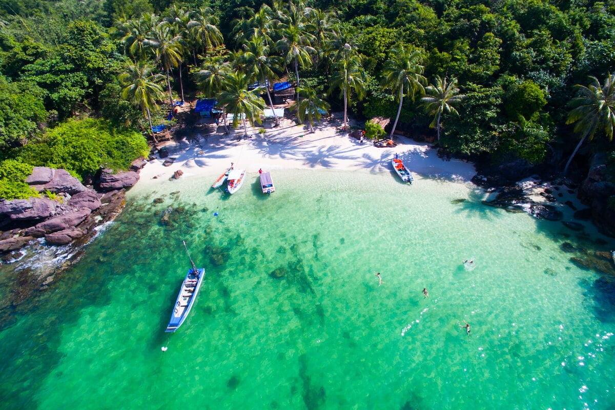 May Rut island Phu Quoc Vietnam