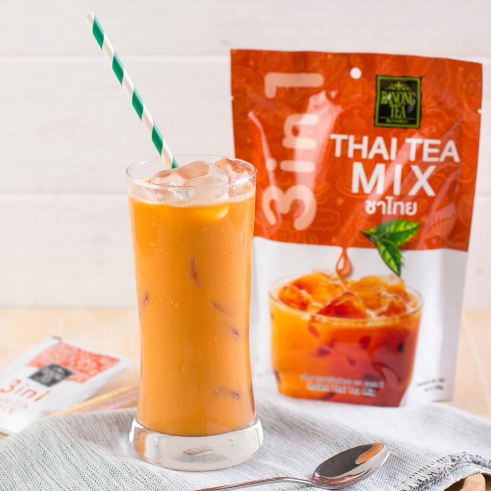 Thai milk tea drinks