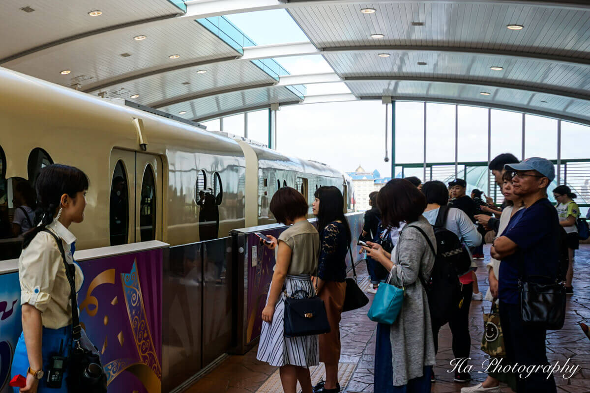 Tokyo Disney train
