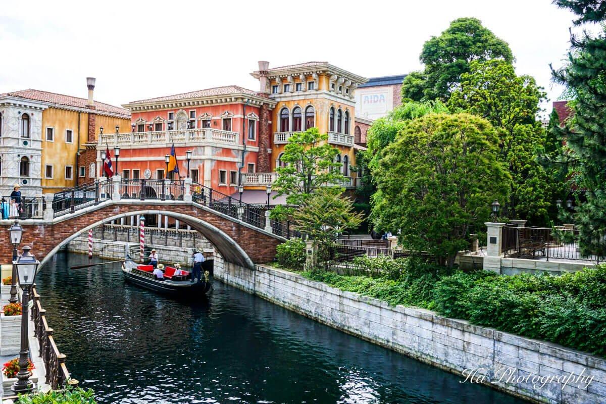 Disney Venice boat