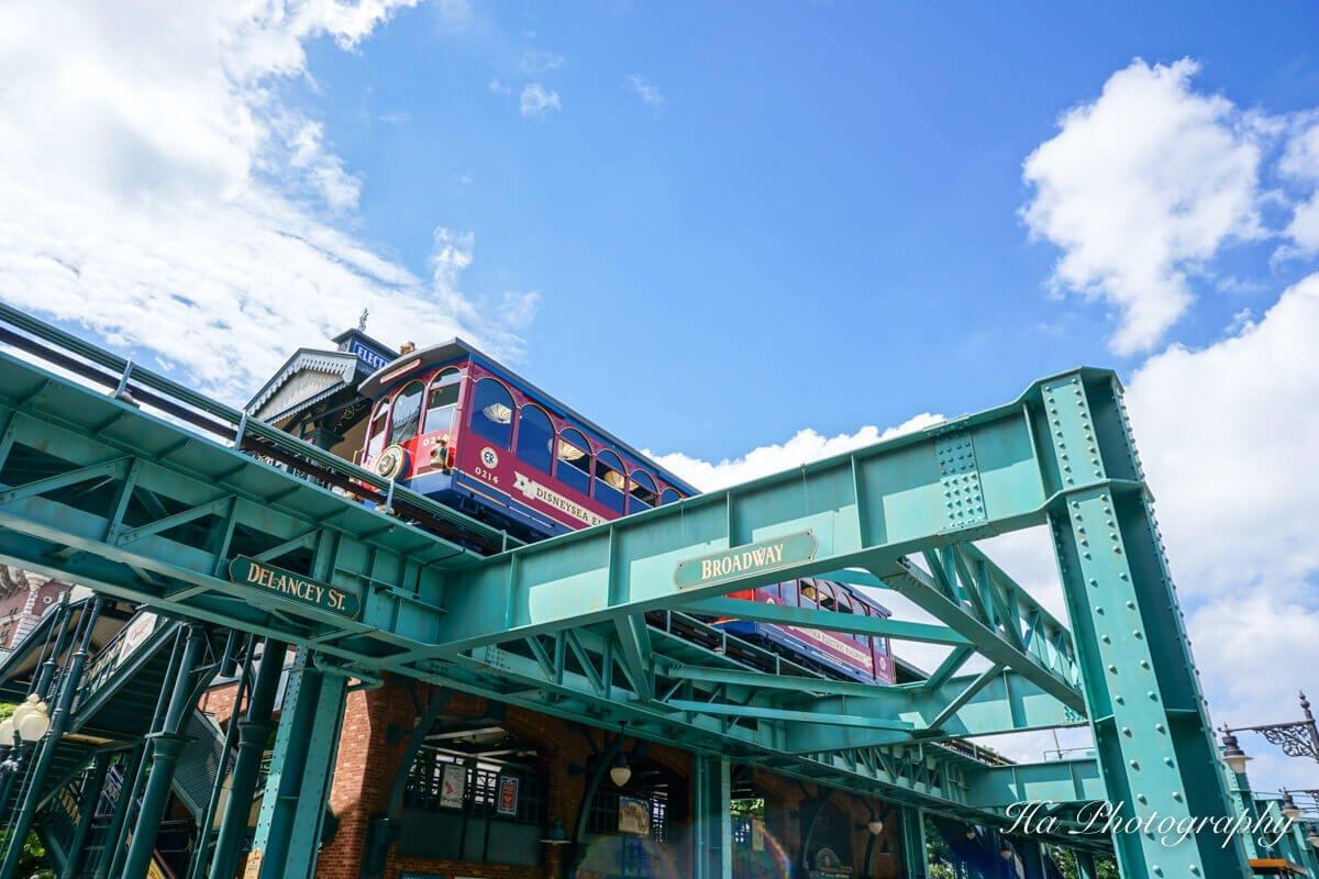 Tokyo DisneySea Japan train
