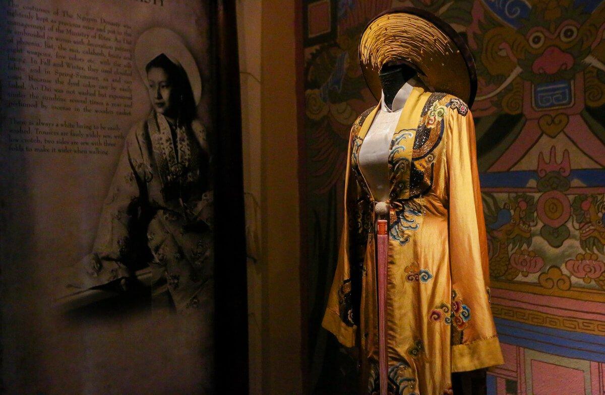 Ao Dai Museum Saigon Vietnam
