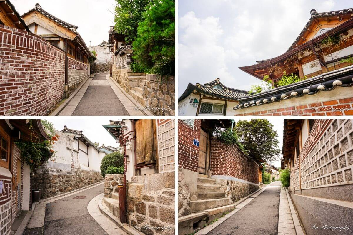 Bukchon Hanok Village Seoul Korea photos