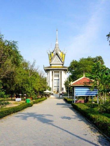 Choeung Ek Genocidal Center Killing Fields Cambodia
