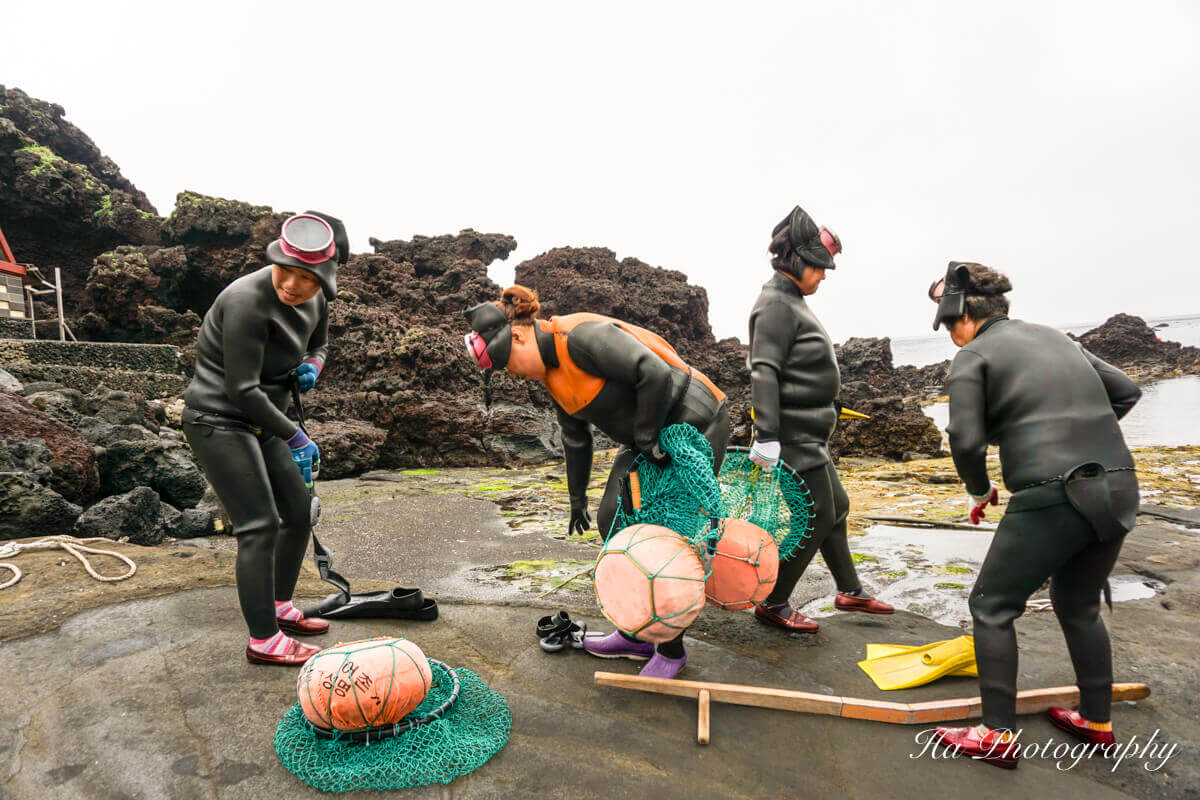 Jeju women divers South Korea