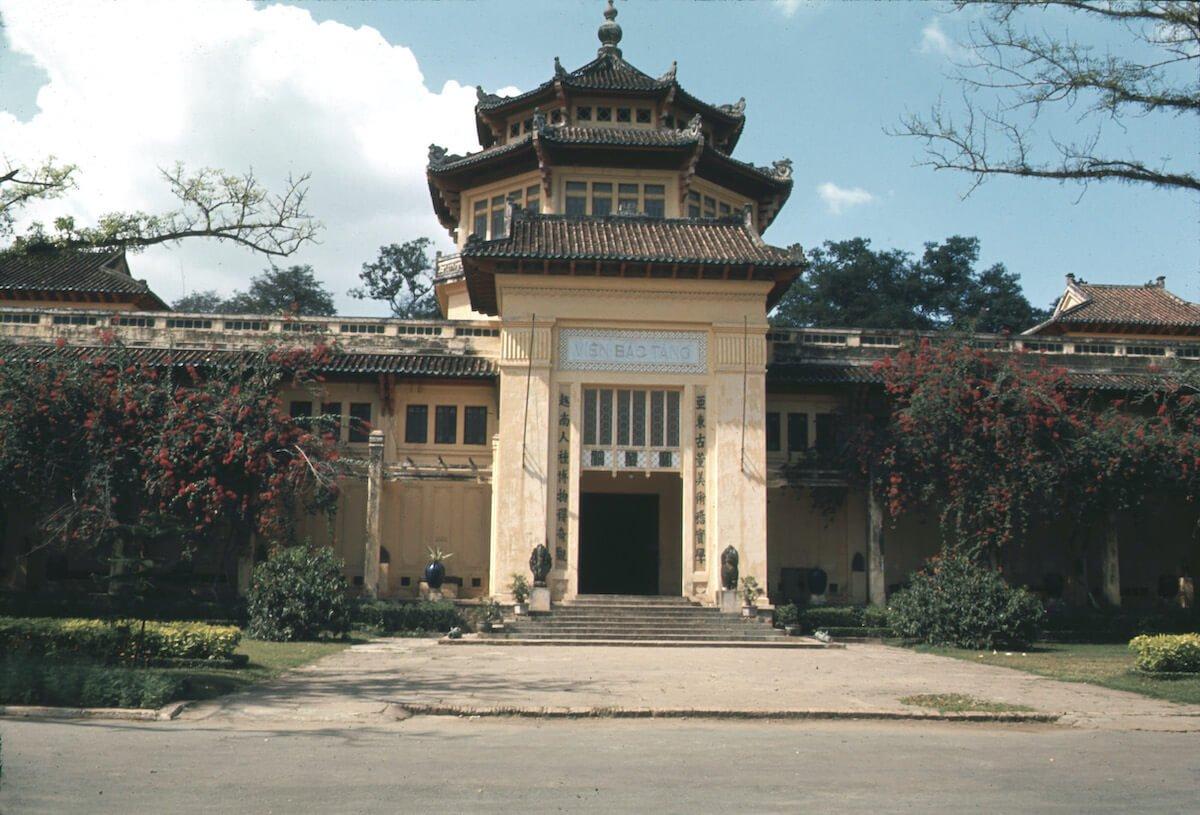 Museum of Vietnamese History Saigon Vietnam
