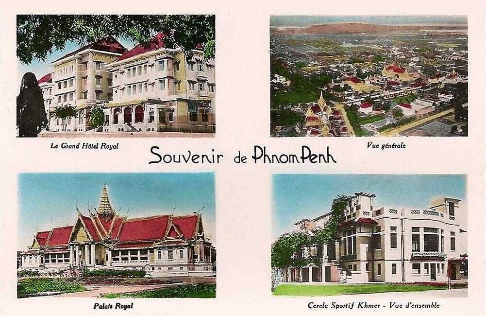 Phnom Penh in the past