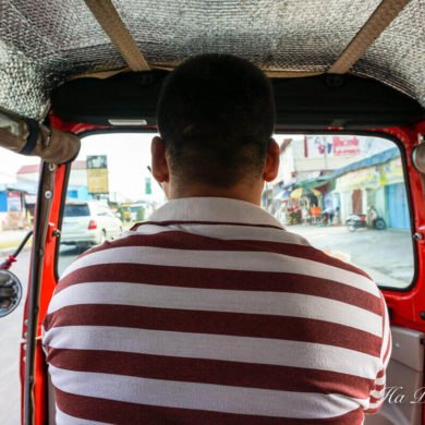 tuk-tuk in Cambodia guide
