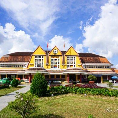 Da Lat Railway station Vietnam