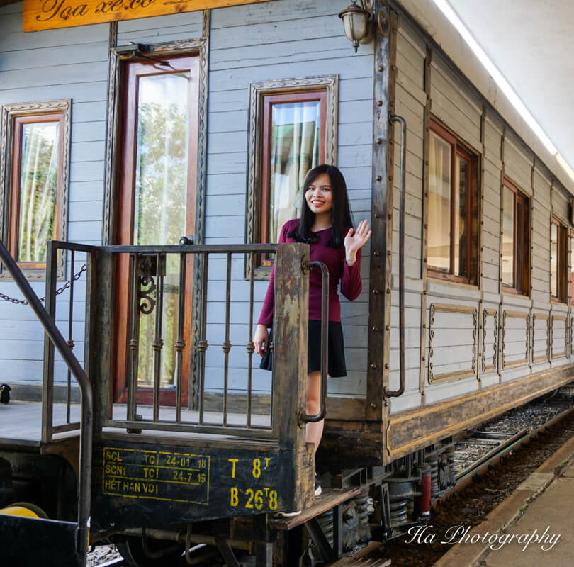 Da Lat train station Vietnam trip