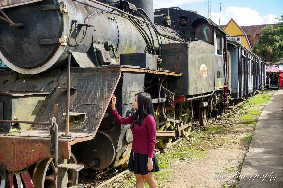 Da Lat train Vietnam