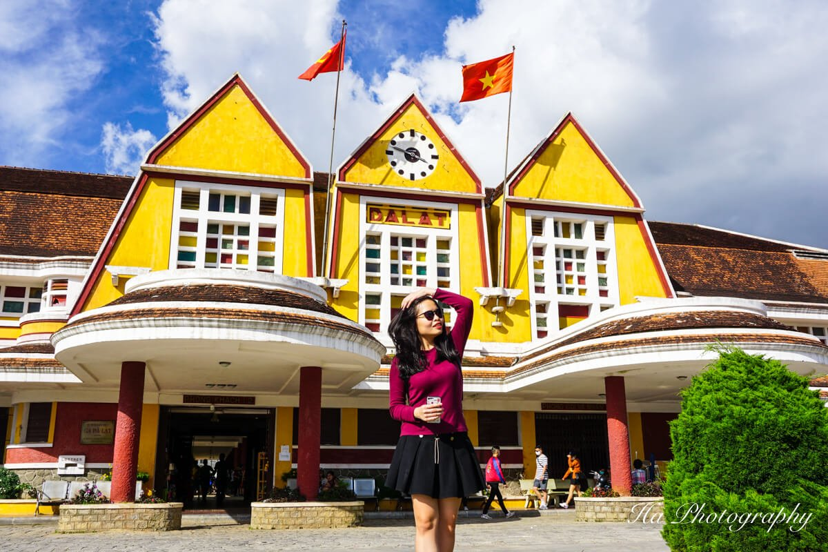 Da Lat train station Vietnam