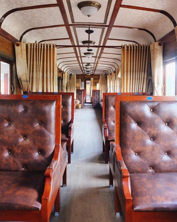 Da Lat train seat