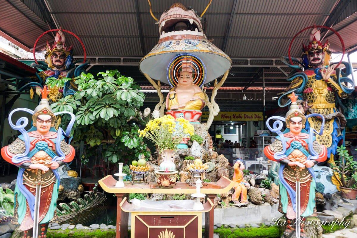 Dragon Pagoda Dalat Vietnam