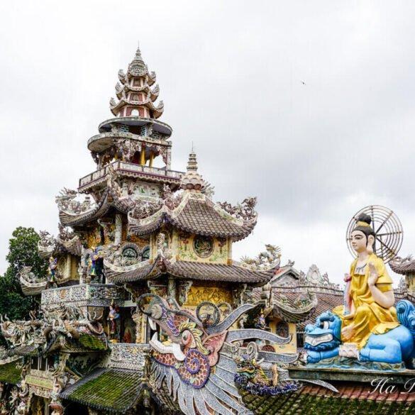Linh Phuoc Pagoda Da Lat Vietnam