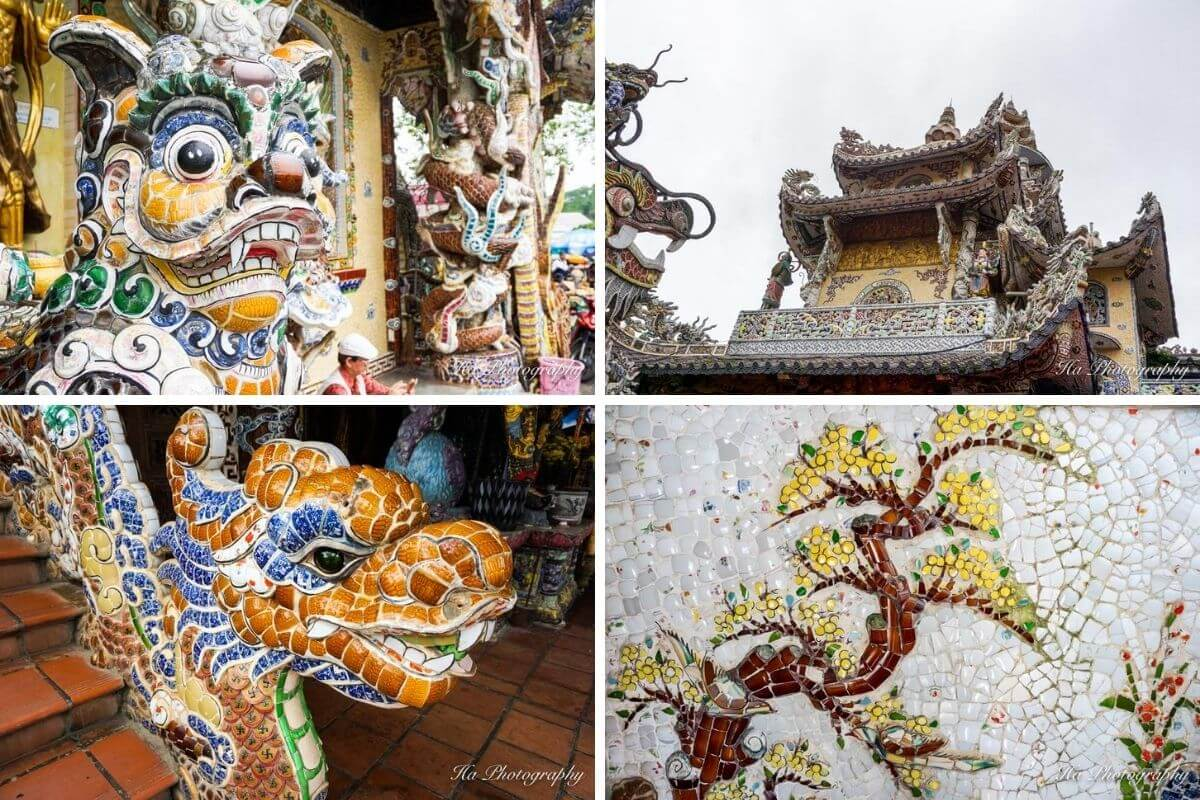 Linh Phuoc Pagoda Dalat Vietnam
