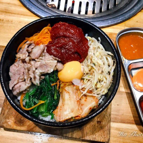 bibimbap Korean food