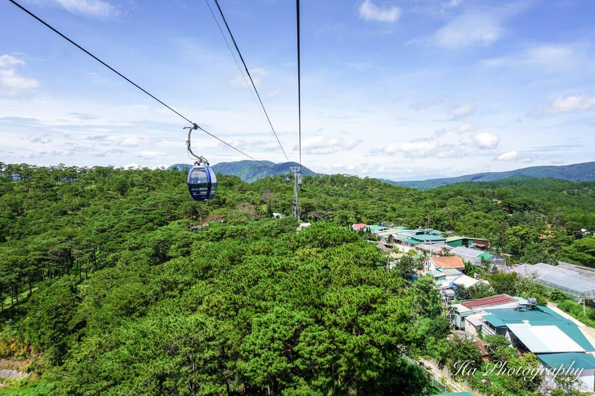 Dalat cable car Vietnam