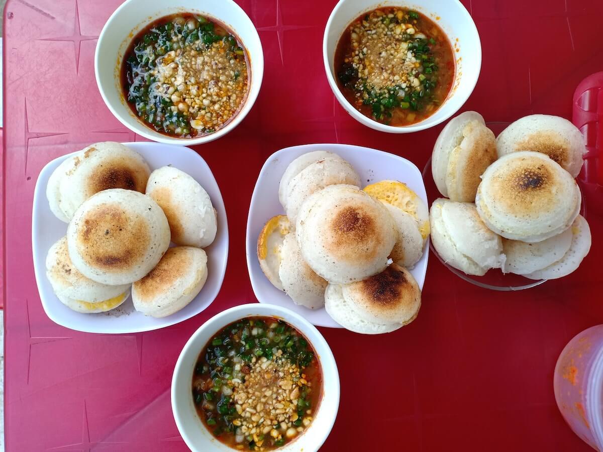 banh can Dalat food