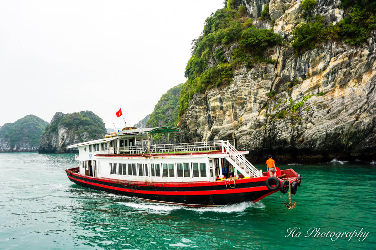 cruise Lan Ha Bay Vietnam