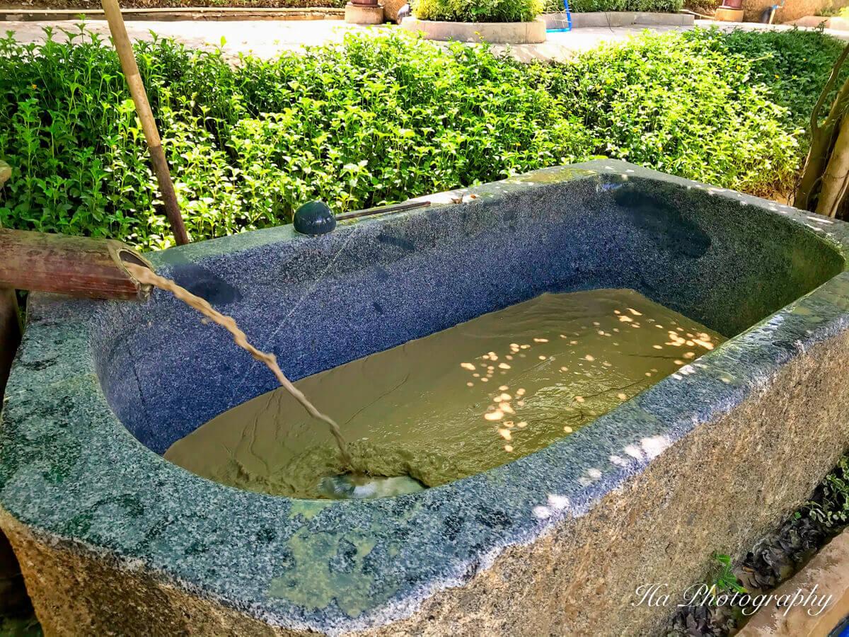 Hon Tam mud bath Vietnam