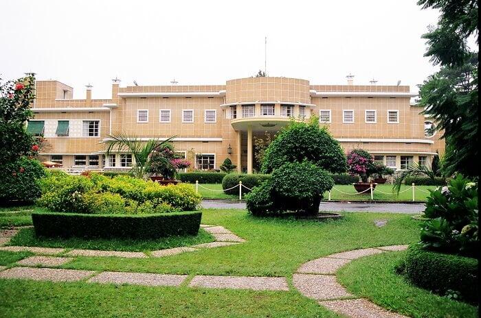 Bao Dai palace Dalat Vietnam