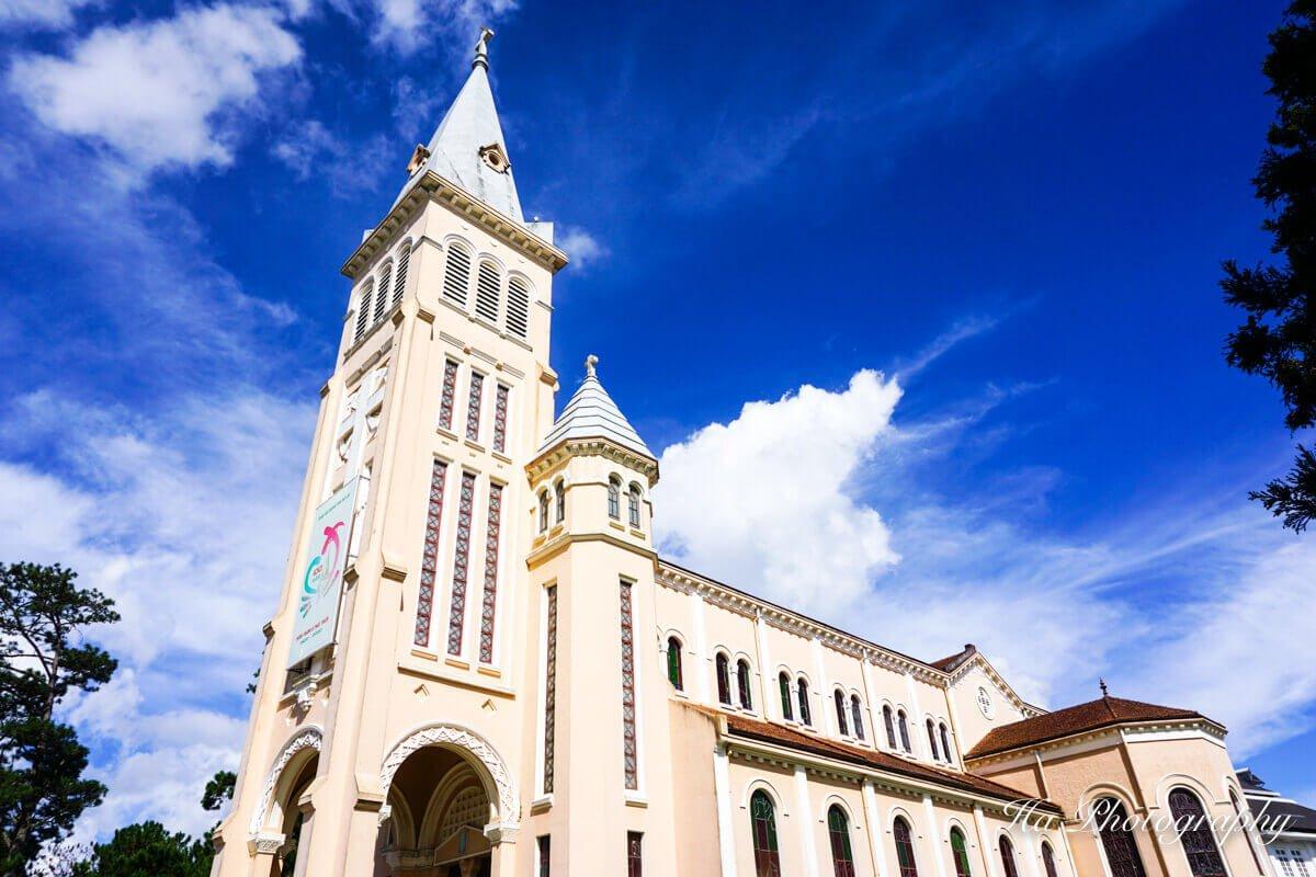 Dalat Cathedral Vietnam
