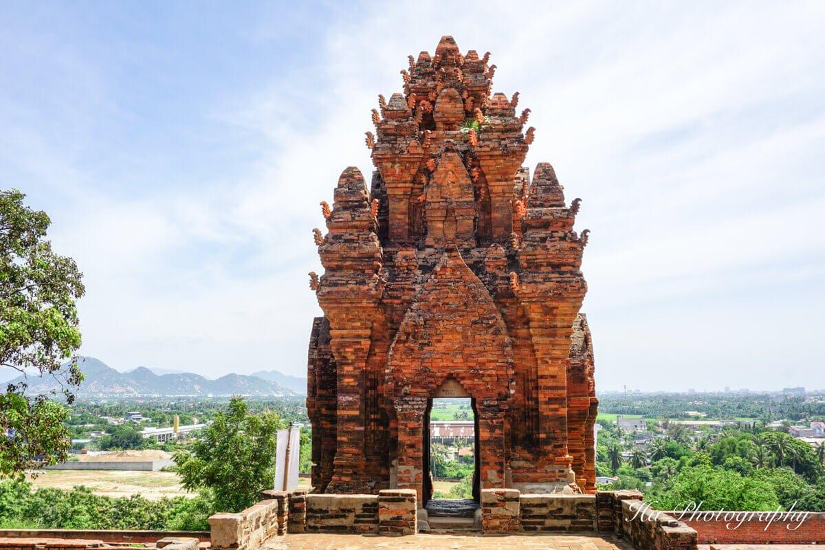 Fire temple Phan Rang Vietnam