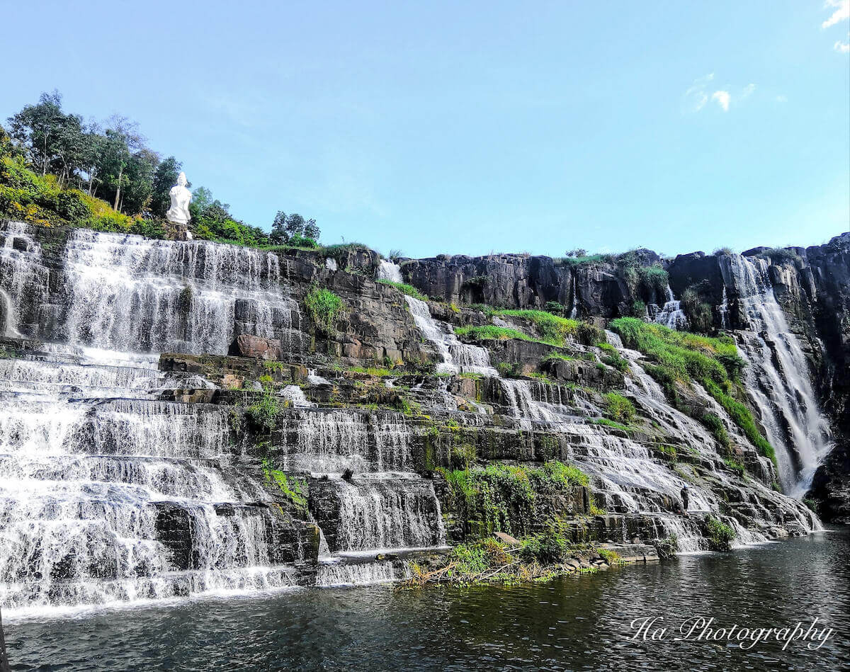 Pongour waterfall Dalat Vietnam