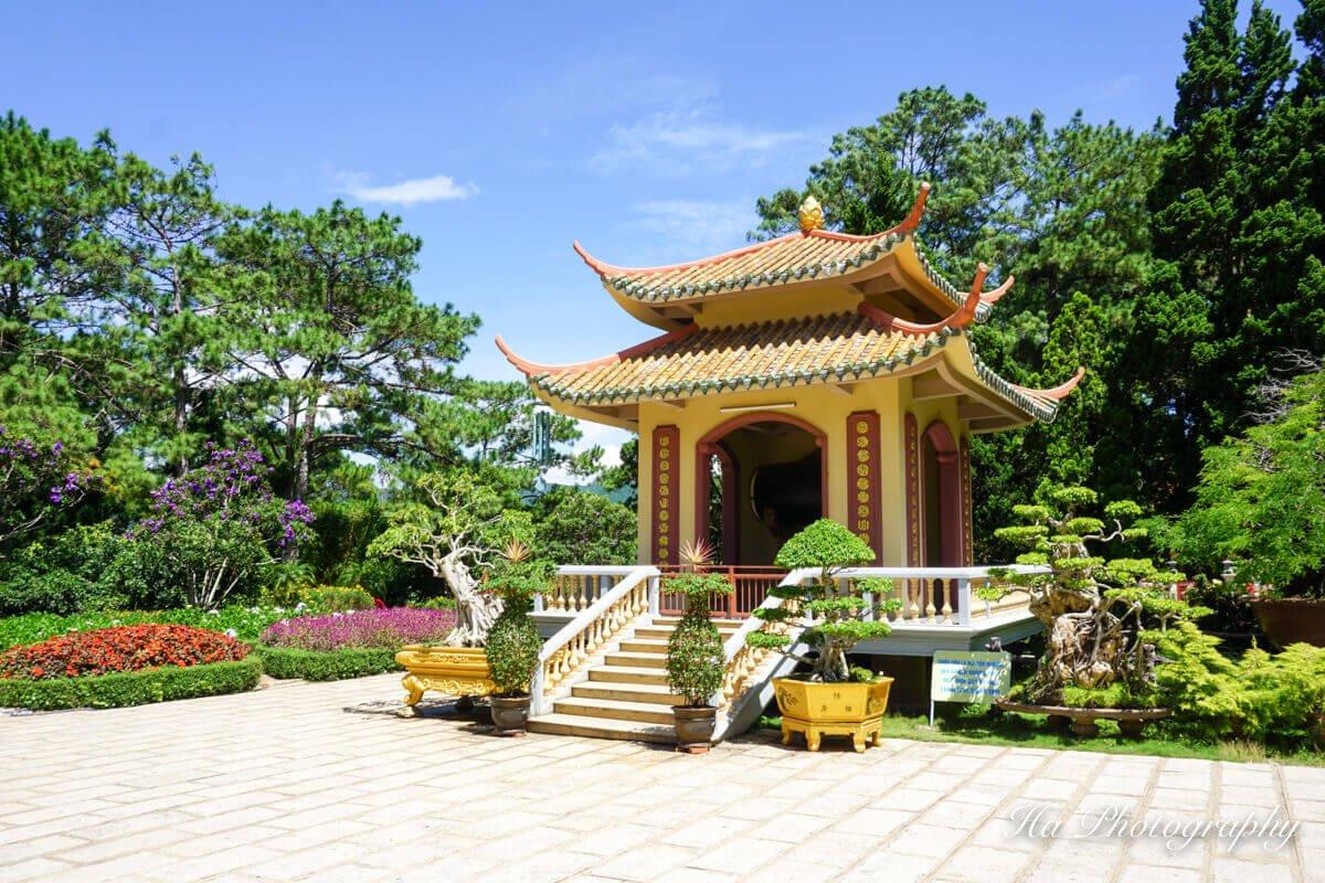 Truc Lam temple Dalat Vietnam