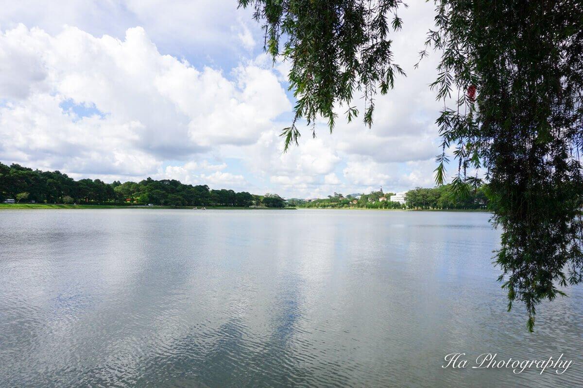 Xuan Huong lake Dalat Vietnam