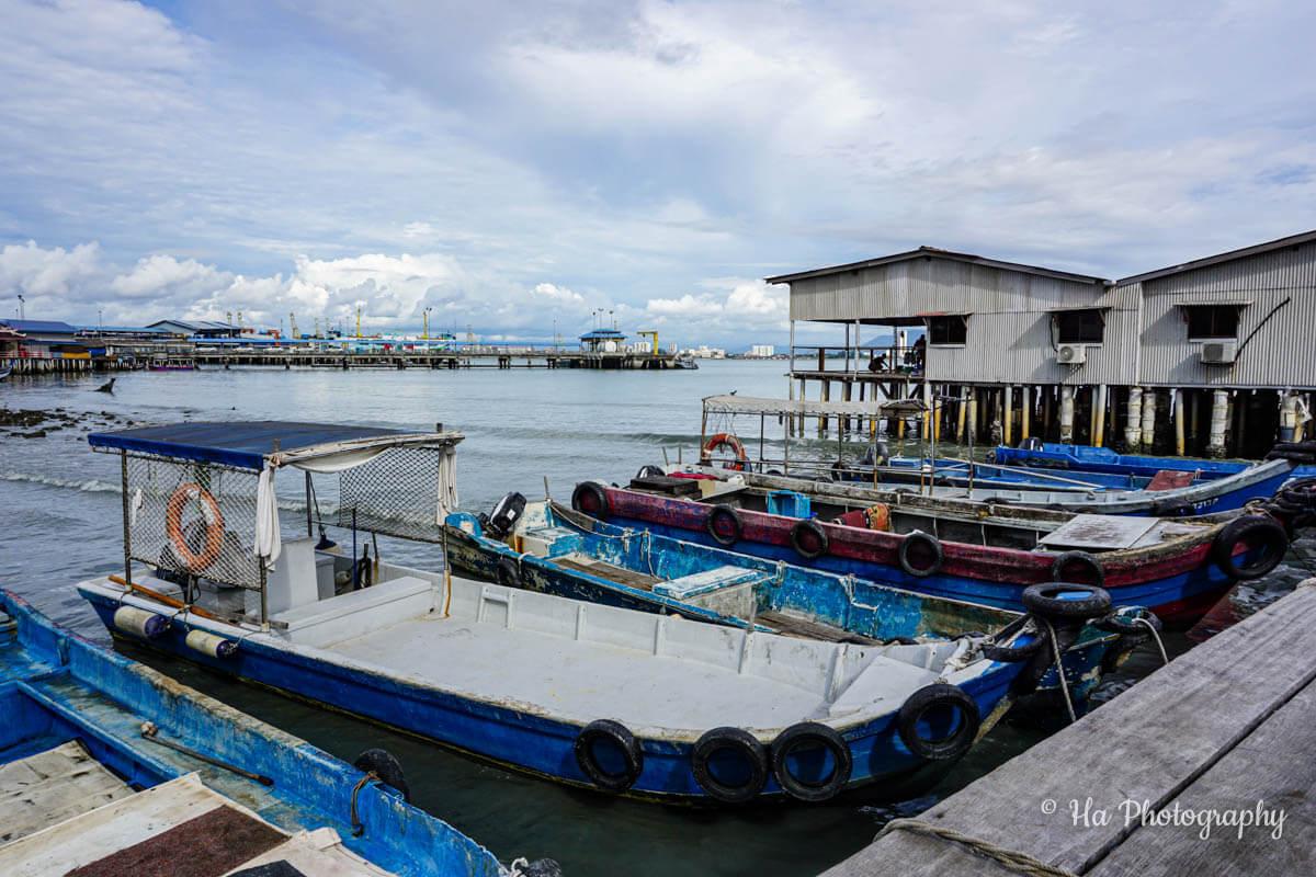Clan Jetties Penang Malaysia