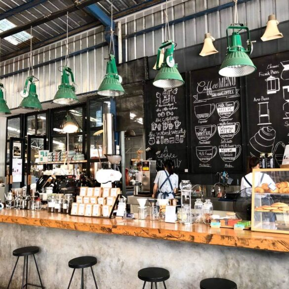 coffee shops to work Da Lat Vietnam