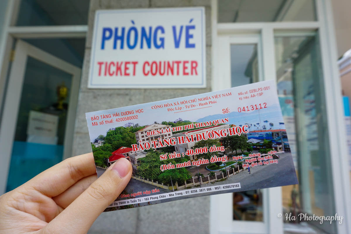 National Oceanographic Museum Nha Trang ticket